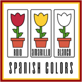 Spanish Colors with Flowers (High Resolution)
