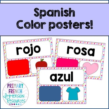 Spanish - Color posters