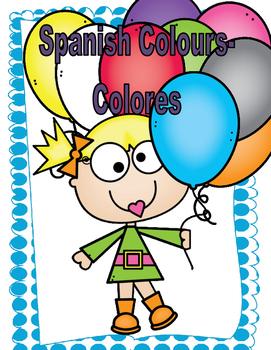 Spanish Colours- Que color es este?