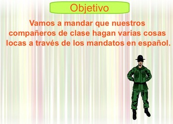 Mandatos - Spanish Commands