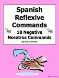 Spanish Commands 18 Reflexive Nosotros Commands