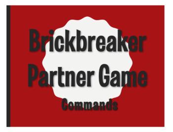 Spanish Commands Brickbreaker Partner Game