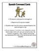 Spanish Commands Cards (Regular and Irregular)