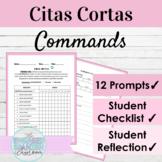 Spanish Commands Citas Cortas Speaking Activity | Los Mandatos