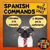 Spanish Commands Lesson Plans, Imperative, Mandatos:  Game