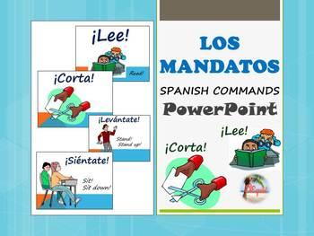 Spanish Commands  Los Mandatos PowerPoint