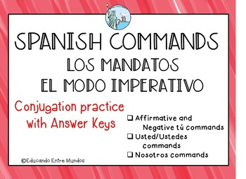 Los Mandatos Spanish Commands El modo imperativo