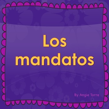 Spanish Commands Mandatos Powerpoint