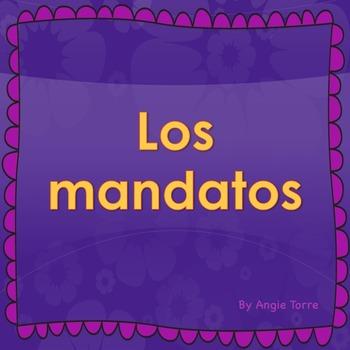 Spanish Commands Mandatos Powerpoint