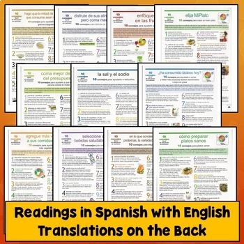 Spanish Commands Readings