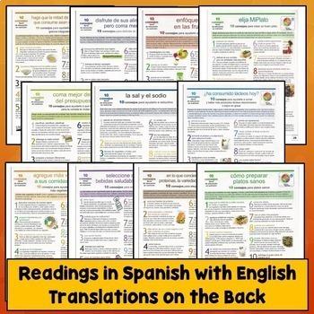 Spanish Commands Readings
