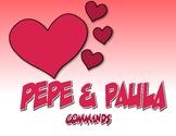 Spanish Commands Pepe and Paula Reading