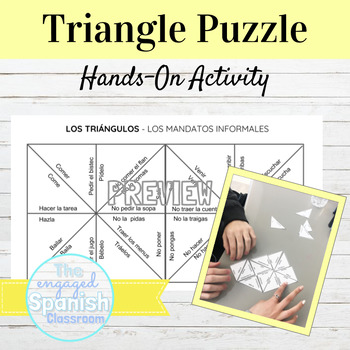 Spanish Informal Commands Puzzle
