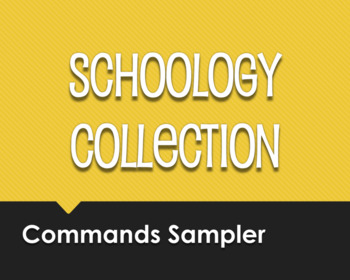 Spanish Commands Schoology Collection Sampler