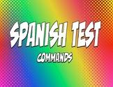 Spanish Commands Test