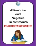 Affirmative and negative tu commands. Mandatos informales