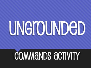 Spanish Commands Ungrounded Activity