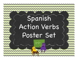 Spanish Common Verb Posters