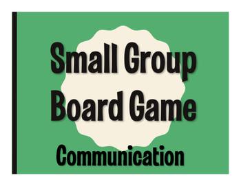 Spanish Communication Board Game