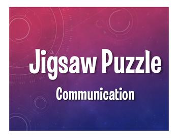 Spanish Communication Jigsaw Puzzle