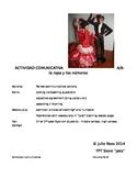 Spanish Communicative Activity - Clothing & Numbers