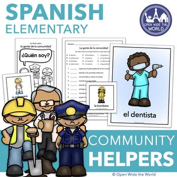 Spanish Community Helpers - La gente de la comunidad