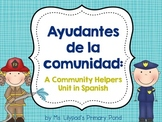 Spanish Community Helpers Unit for Preschool, Kindergarten