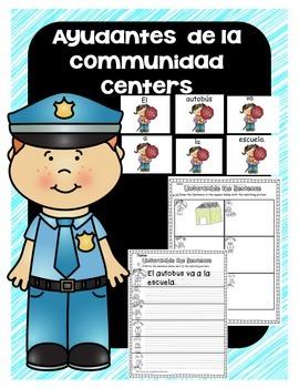 Spanish Ayudantes de la Communidad/Community Helpers Center