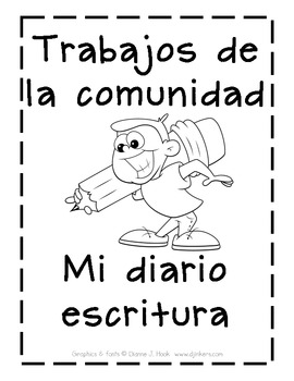 Spanish Community Workers Writing Journal