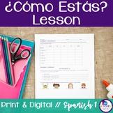 Spanish Como Estas Lesson