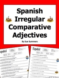Spanish Comparative Adjectives - 11 Irregular Comparative Adjectives Sentences