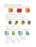 Spanish Comparative and Superlative Quiz