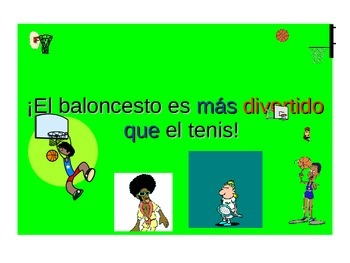 Spanish Teaching Resources. The Comparative PowerPoint Presentation