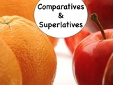 Spanish Comparatives & Superlatives Keynote Presentation for Mac, iPad,etc.