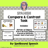 Spanish Compare & Contrast Task