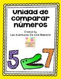 Spanish Comparing Numbers Unit