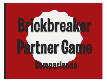 Spanish Comparisons Brickbreaker Partner Game