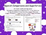 Spanish Comparisons and Superlatives