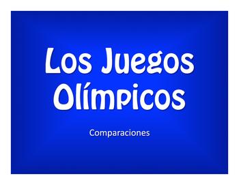 Spanish Comparisons Olympics