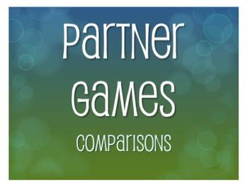 Spanish Comparisons Partner Games