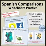 Spanish Comparisons Practice
