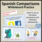 Spanish Comparisons Practice
