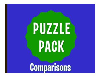 Spanish Comparisons Puzzle Pack