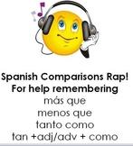 Spanish Comparisons Song / Chant / Rap / Saying