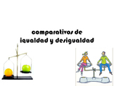 Spanish Comparisons of Equality and Inequality Power Point