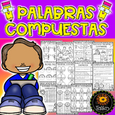 Spanish: Compound Words  (Palabras Compuestas) Distance Learning
