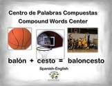 Spanish Compound Words / Palabras Compuestas in a Station / Center Activity