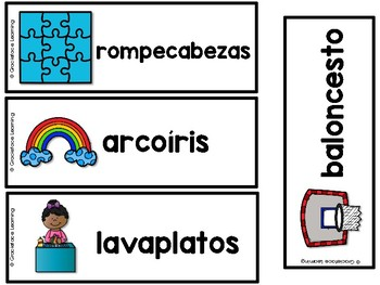 Spanish Compound Words – Palabras compuestas