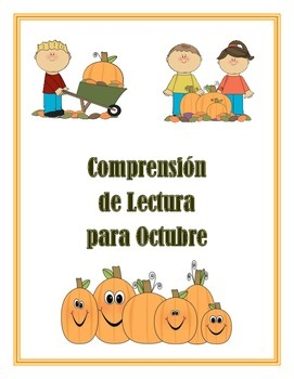 Spanish Comprehension For October