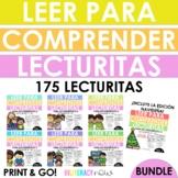 Spanish Lecturitas - Leer para comprender BUNDLE
